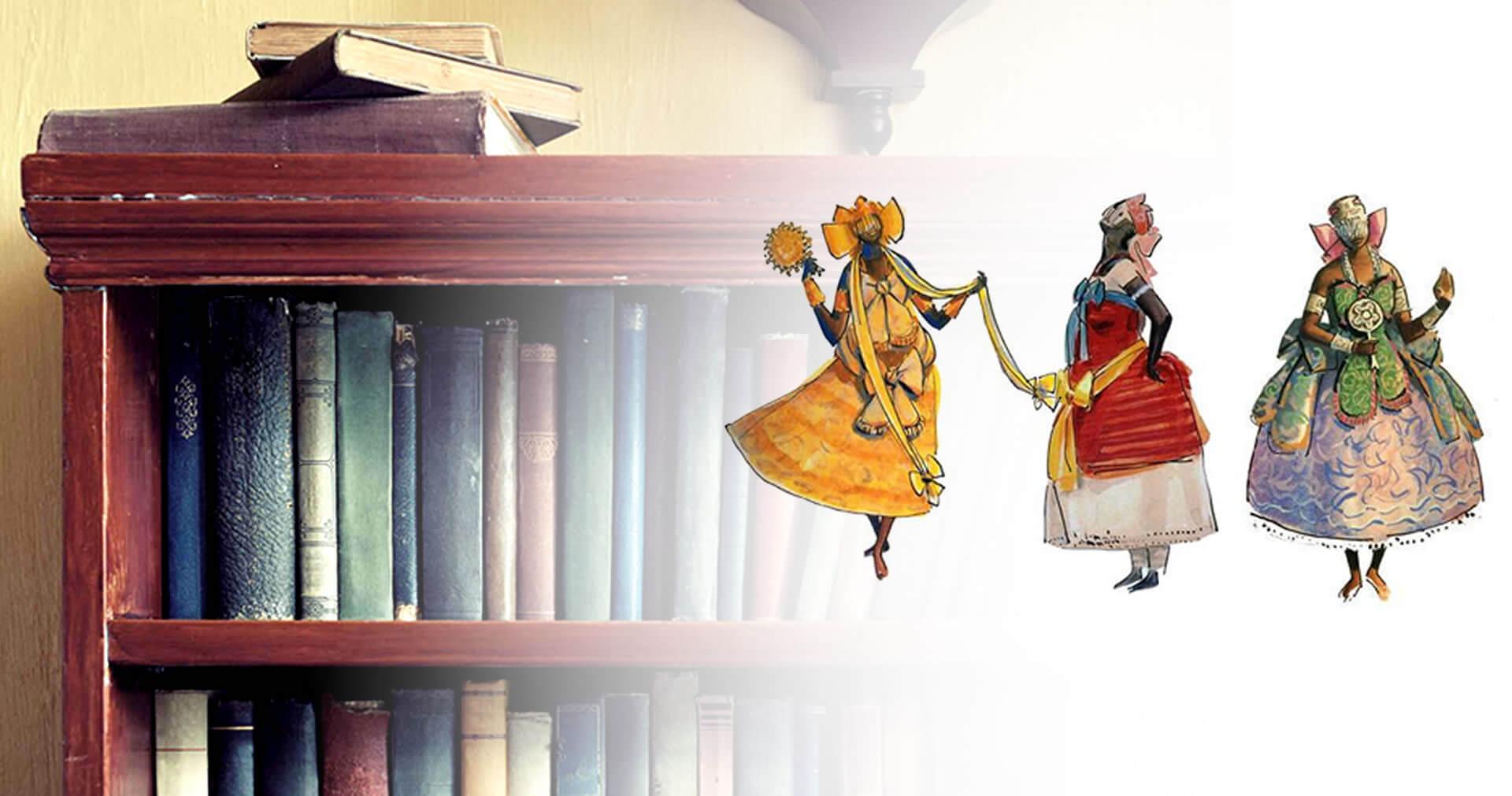 Entre Orixás e Livros