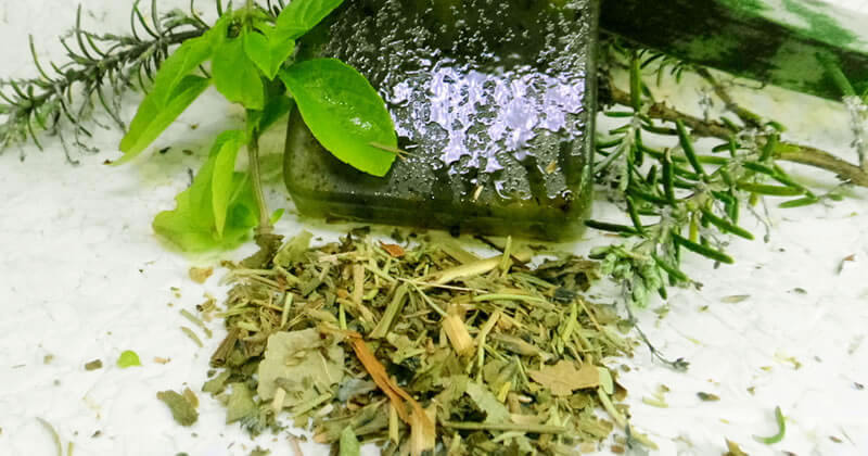 Banho de Ervas para Limpeza Espiritual